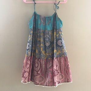 Zimmermann Girl's Spaghetti Strap Dress Size 2
